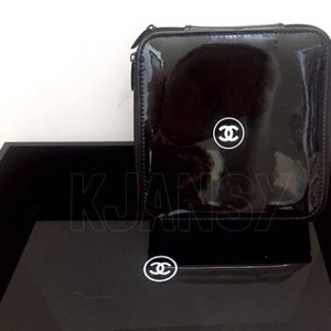Chanel Beauty Cosmetic Travel Case